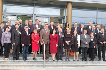 Galeria Spotkanie plenarne Polskiej Sieci Odnowy i Rozwoju Wsi w Morawicy (12-13 maja 2014r.) 1